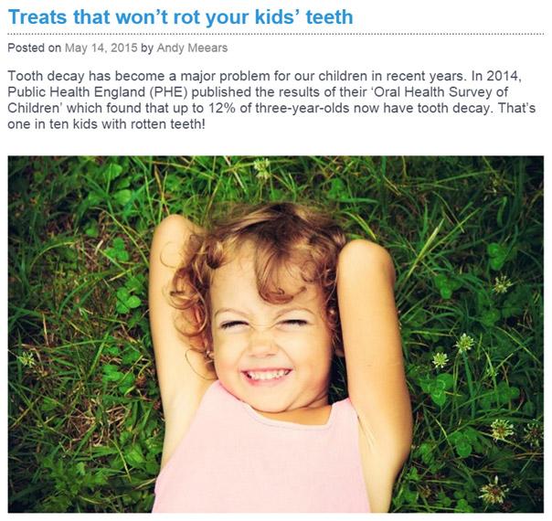 Unicorn Thesaurus Portfolio - Children Dental Health