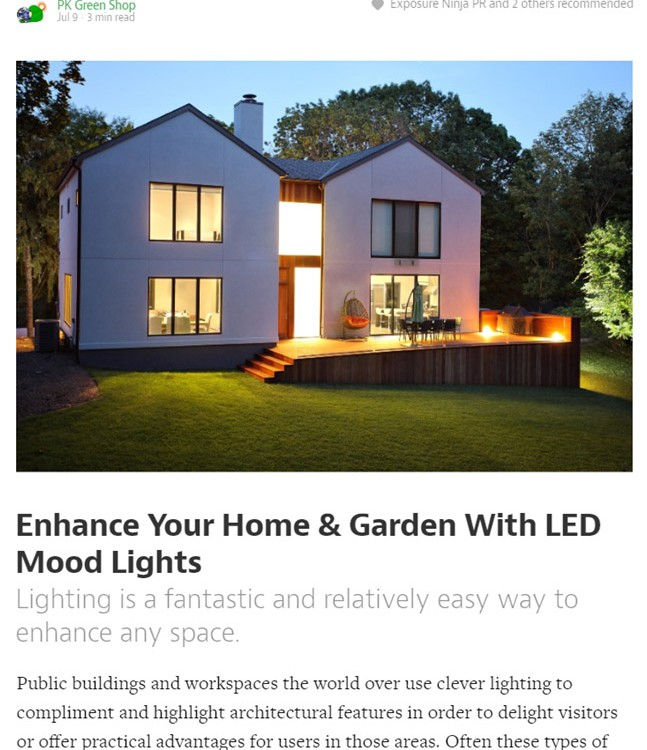 Unicorn Thesaurus Portfolio - LED Lighting