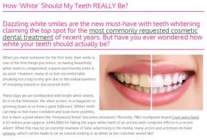Unicorn Thesaurus Portfolio - Private Dental Clinic